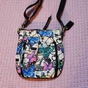 Coach butterfly bag